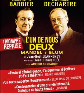 L'un de nous deux - Mandel / Blum, de Jean-Noël Jeanneney
