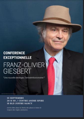 Une nouvelle idéologie, l'antisémitosionisme, avec Franz-Olivier Giesbert