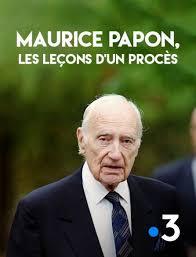 Maurice Papon, les leçons d'un procès, de Stéphane Bihan