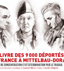 Présentation du  Livre des 9 000 déportés de France à Mittelbau-Dora, camp de concentration et d'extermination par le travail.