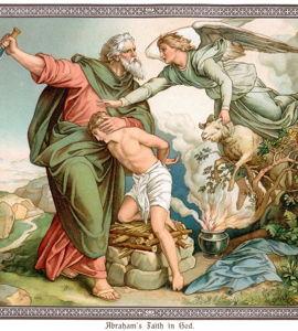 L'ancien testament:  Abraham et le sacrifice, peut-on négocier avec Dieu ?