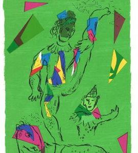 De couleur et d'encre, Marc Chagall  et les revues d'art