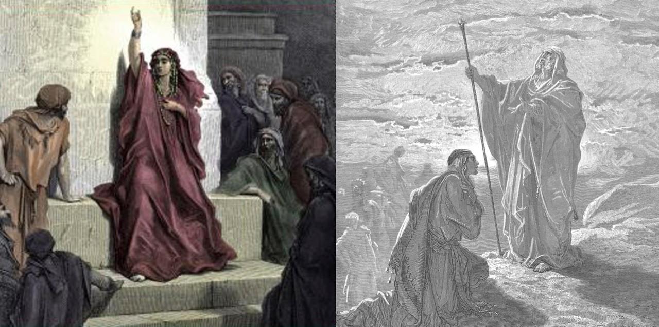 Prophètes et prophétesses dans les textes bibliques et rabbiniques, avec Liliane Vana