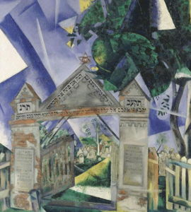 Chagall entre deux mondes, de Laurence Jourdan