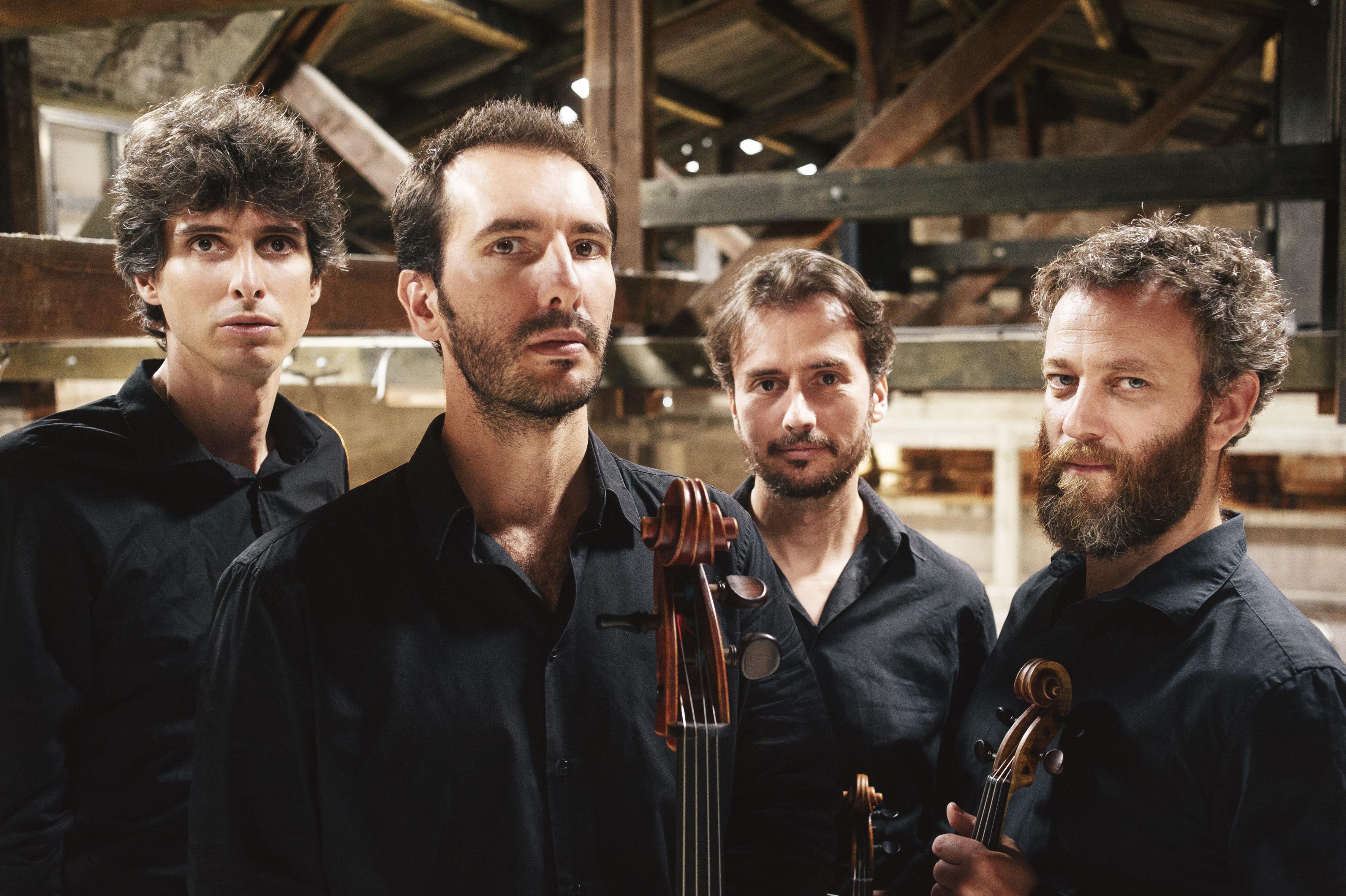 Trois frères de l'orage, par le quatuor Béla