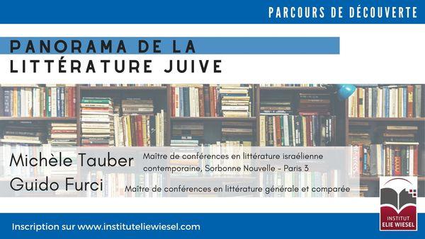 La naissance de la littérature hébraïque moderne, avec Michèle Tauber