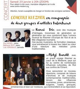 Klezmer avec Kanaï Trio et Pletz Bandit