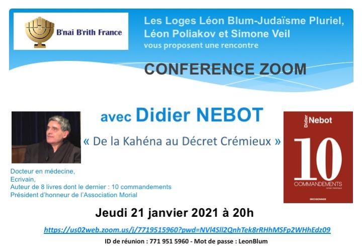 De la Kahena au décret Crémieux, avec Didier Nebot