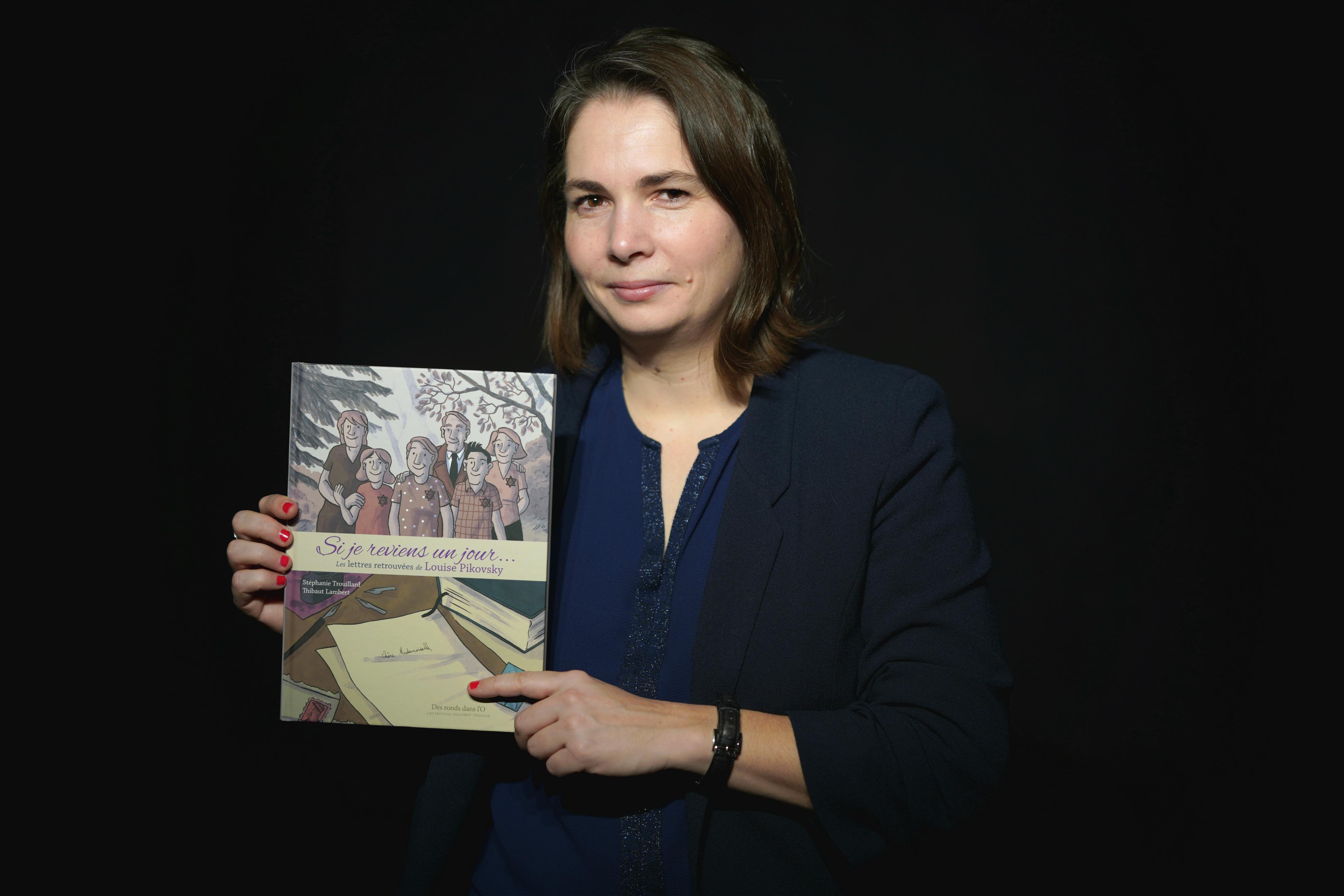 Si je reviens un jour… Les lettres retrouvées de Louise Pikovsky, avec Stéphanie Trouillard