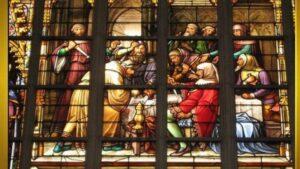 Année 1370: drame du miracle du Saint Sacrement pour la communauté juive bruxelloise