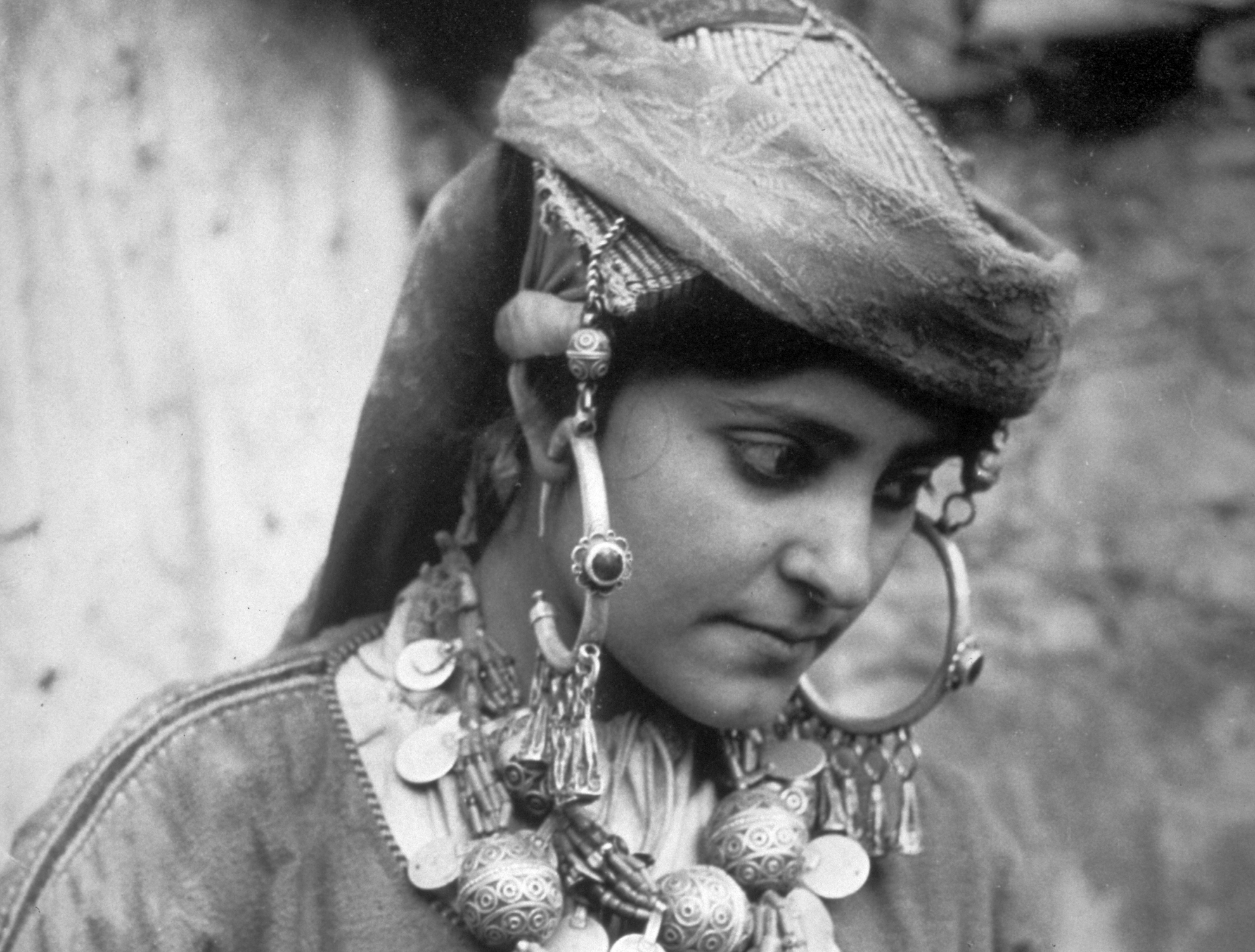 Visite de l'exposition Juifs du Maroc, 1934-1937 Photographies de Jean Besancenot, par Cécile Petitet