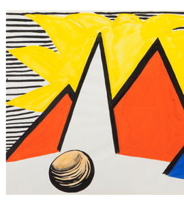 Calder : Great Yellow Sun