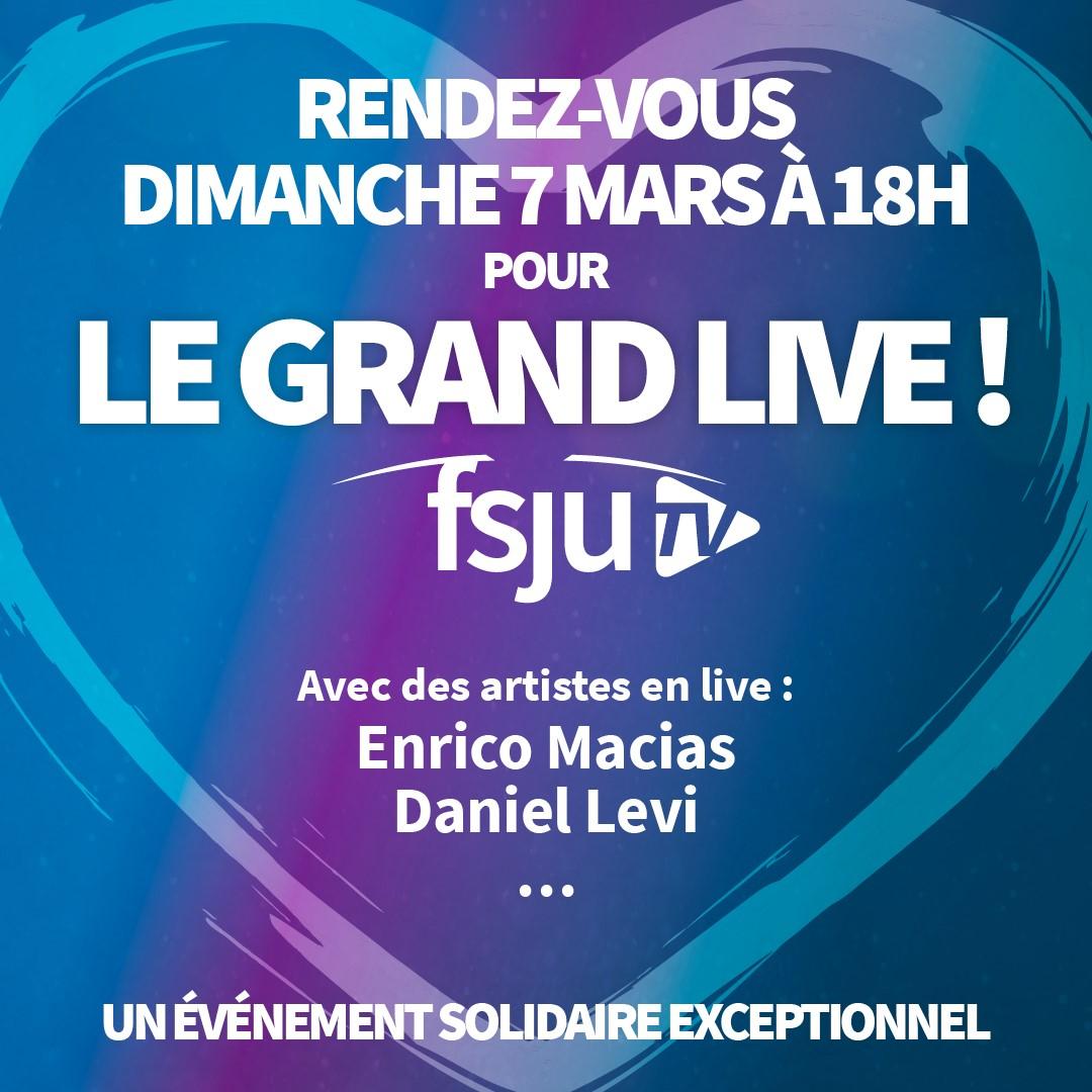 Le Grand Live Solidaire du FSJU