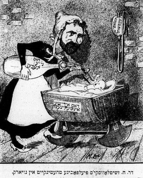 Chaim Zhitlowsky, le yiddishiste qui ne voulut pas du « melting pot », avec Reyze Turner