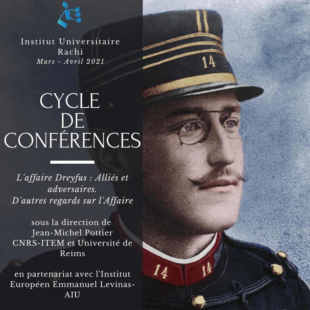 L'Affaire Dreyfus, alliés et adversaires. D'autres regards sur l'Affaire, avec  Marie Aynié