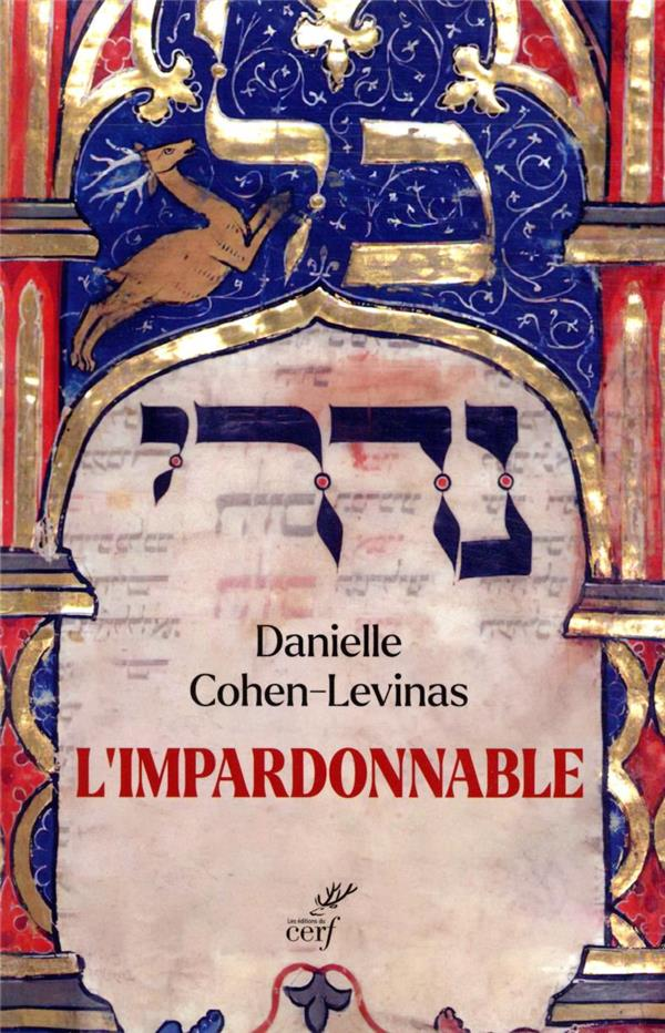 L'impardonnable, avec Danielle Cohen-Lévinas
