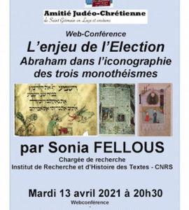L'enjeu de l'Election: Abraham dans l'iconographie des trois monothéismes, avec Sonia Fellous