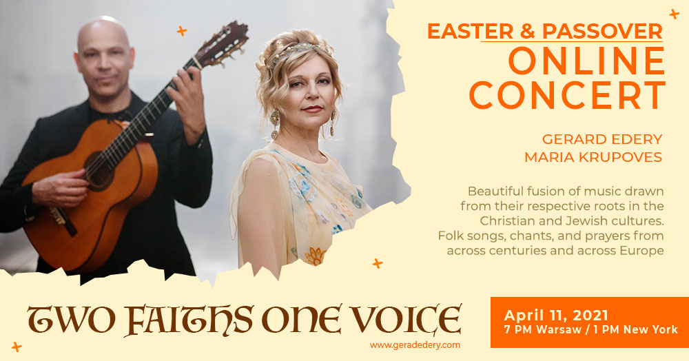 Two faiths, one voice (Deux fois, une voix),  avec Gérard Edery et Maria Krupoves