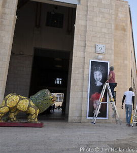 Exposition de portraits de survivants de la Shoah à Jérusalem