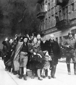 Commémoration du soulèvement du ghetto de Varsovie