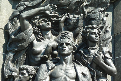 Commémoration de l'insurrection du Ghetto de Varsovie