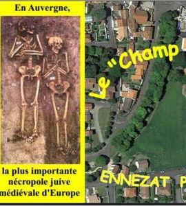 Le champ des juifs d'Ennezat, une nécropole juive médiévale