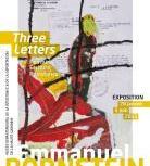 Three letters. Peinture. Écriture. Résistance, d'Emmanuel Bornstein