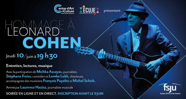 Rencontre musicale: hommage à Léonard Cohen