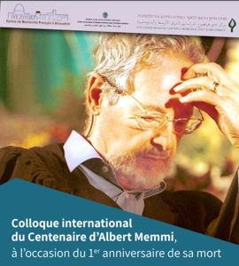 Centenaire d'Albert Memmi à l'occasion du 1er anniversaire de sa mort