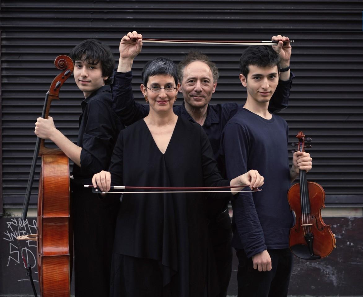 Le Quartet Funambule, avec LaurentGrynszpanet Betsy Schlesinger
