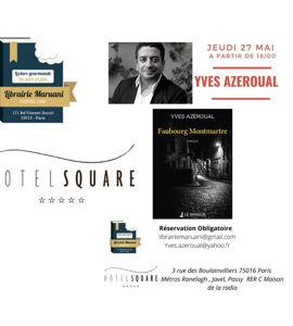 Faubourg Montmartre, avec Yves Azeroual