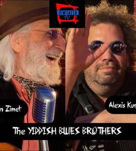 Les Yiddish Blues Brothers! avec Ben Zimet et Alexis Kune
