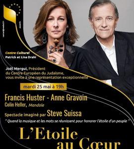 L'étoile au cœur, avec Francis Huster et Anne Gravoin