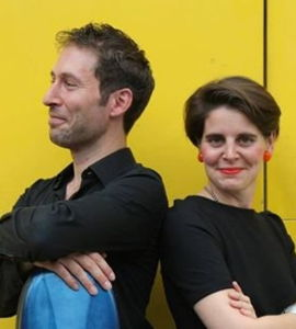 Le cœur est un feu, avec Claire Audhuy et Tristan Lescêne