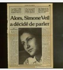 Simone Veil: écouter et entendre sa voix
