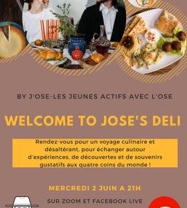 Welcome to Jose's deli!!!