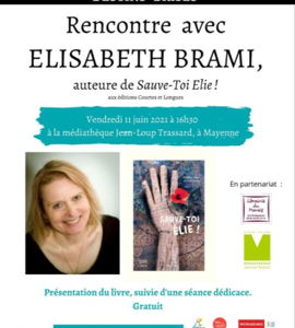 Sauve-toi Élie!, avec Elisabeth Brami