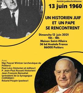 13 Juin 1960: un historien juif et un pape se rencontrent