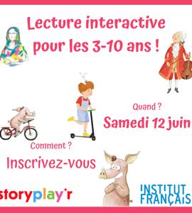 Storyplay'r, lecture inédite en français