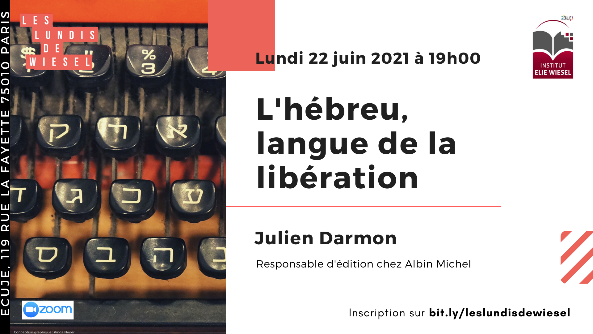 L'hébreu, langue de la libération, avec Julien Darmon