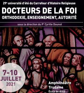 Docteurs de la Foi – Orthodoxie, enseignement, autorité, avec Cyrille Dounot