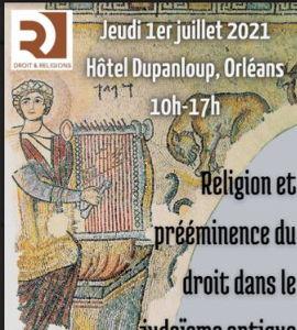 Religion et prééminence du droit dans le judaïsme antique, avec Tristan Pouthier