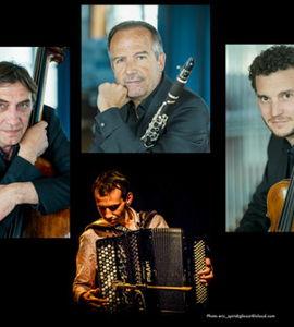 Orchestre régional de Normandie  & Noé clerc quatuor