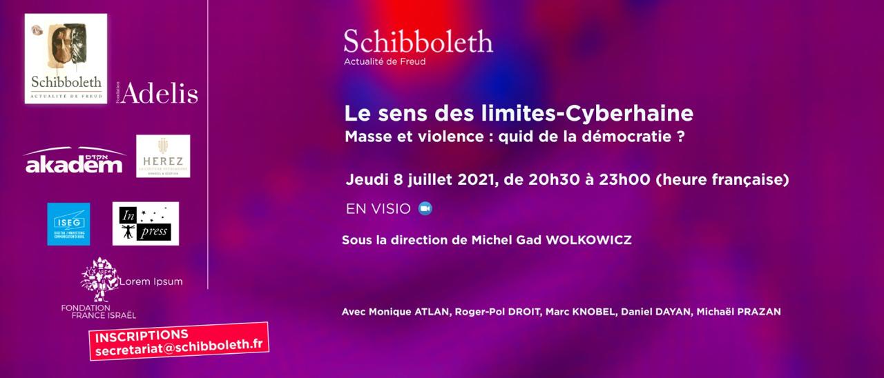 Le sens des limites: cyberhaine, masse et violence: quid de la démocratie?