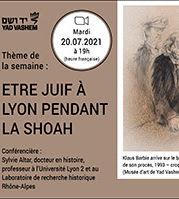 Etre juif à Lyon pendant la Shoah, avec Sylvie Altar