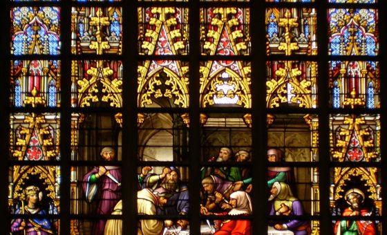 Année 1370 – Drame du miracle du Saint Sacrement pour la communauté juive bruxelloise, avec Moïse Ben David