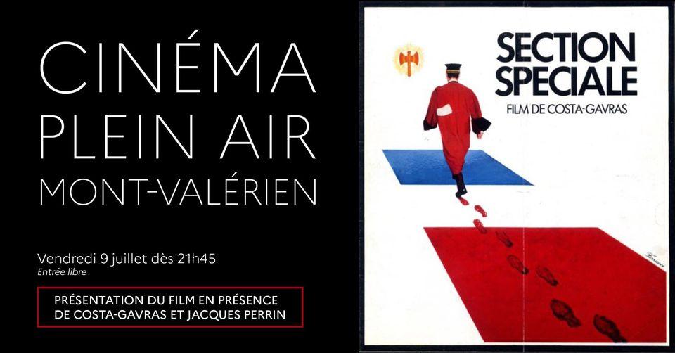 Le Mont-Valérien fait son cinéma! Section spéciale, de Costa-Gavras