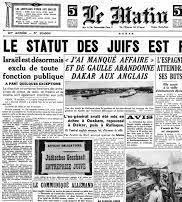 Les lois anti-juives de Vichy 1940-1945
