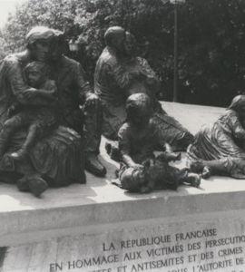 Commémoration de la rafle du Vel d'Hiv, avec l'association Fils et filles de déportés juifs de France
