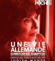 Une vie allemande, de Christopher Hampton, avec Judith Magre